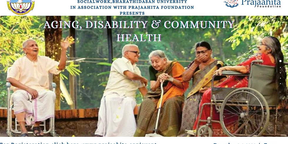 Aging, Disability and Community Health