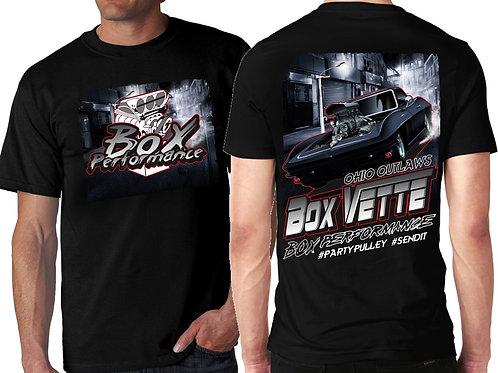PRE-ORDERS-Boxvette BLACK Hoodie