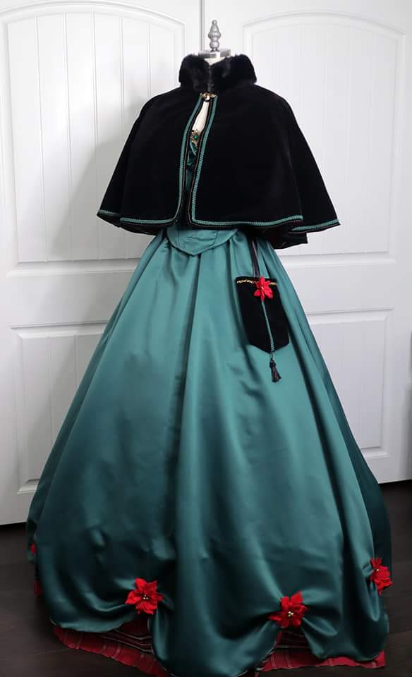 The Great Dickens Christmas Faire - 1860's Ball Gown