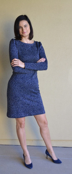 McCall's 7967 Knit Dress Sewing Pattern
