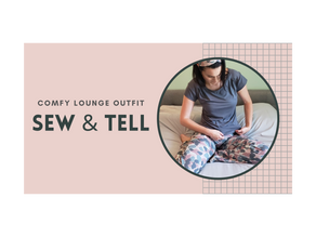 Super Comfy Lounge Wear (Easy to Make!)