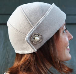 1920's Cloche Hat Simplicity 1736 Sewing Pattern