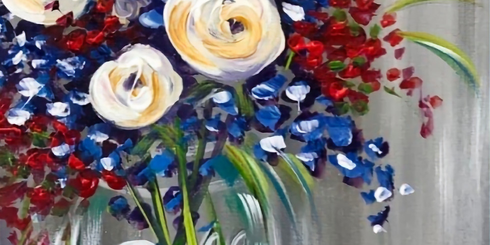 Adult Painting Class with Amanda