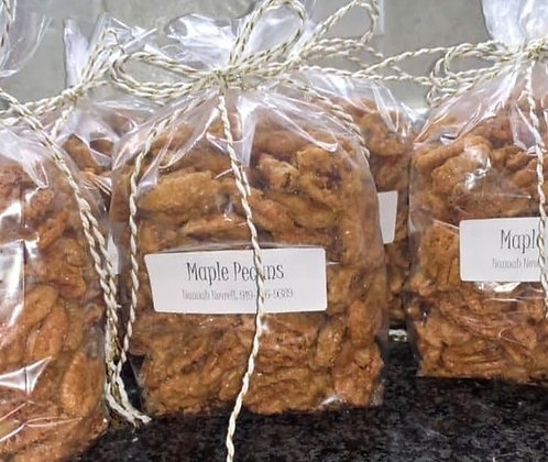 Homemade Maple Pecans - Large Gift Bag