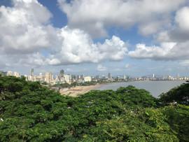 Mumbai from above