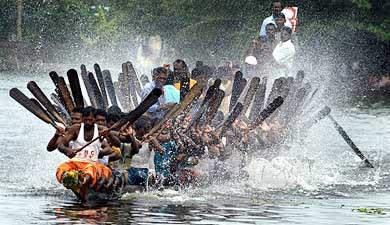 Boat races au Kerala