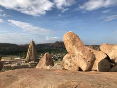 Hampi's boulders