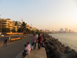 Mumbai by sunset