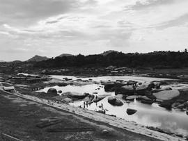 Hampi's river
