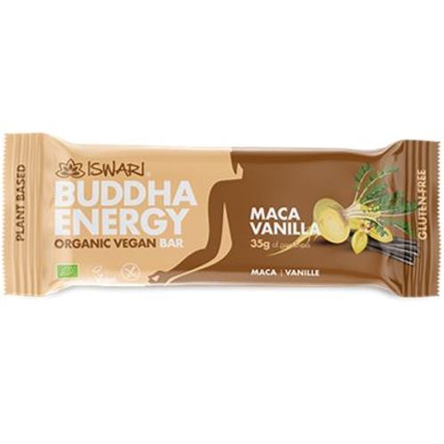 BUDDHA ENERGY BAR MACA VANILLA GR 35 - Iswari