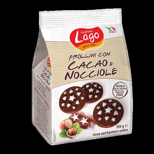 FROLLINI CON CACAO E NOCCIOLE GR 350 - Lago