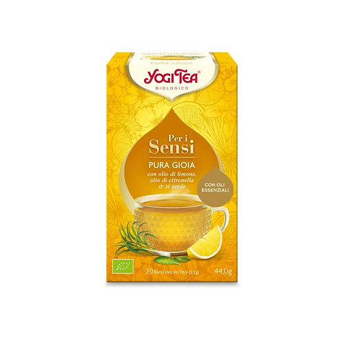 PURA GIOIA - LIMONE CITRONELLA TE' VERDE GR 44 - Yogi Tea