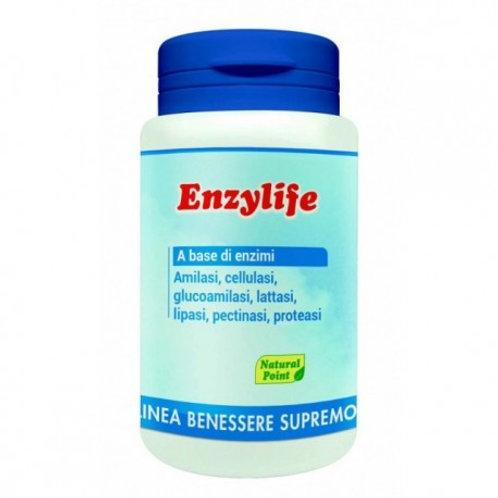 ENZYLIFE A BASE DI ENZIMI DIGESTIVI 60 CAPSULE - Natural Point