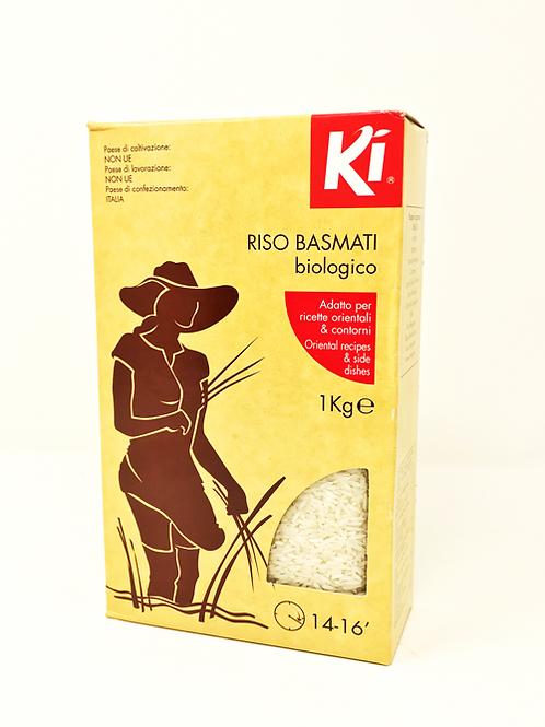 RISO BASMATI BIOLOGICO 1 Kg - Ki