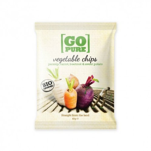 CHIPS VEGETALI BIO GR 90 - GO PURE