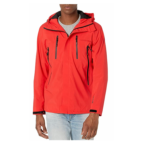 HYDROTECH ULTIMATE WATERPROOF HIGH RISK RED - Superdry