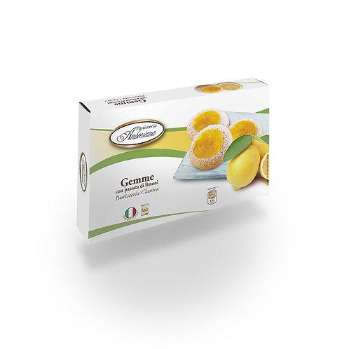 GEMME CON PASSATA DI LIMONI GR 150 - Pasticceria Ambrosiana
