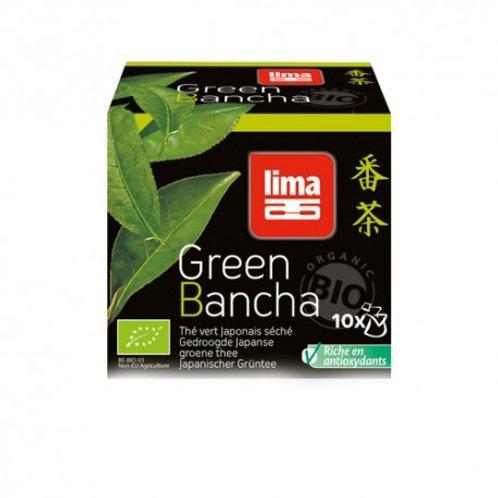 THE VERDE GIAPPONESE  BANCHA BIO 10 sacchetti - Lima