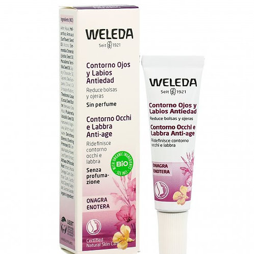Contorno occhi Ricompattante Anti Age all'Enotera - 30 ML - Weleda