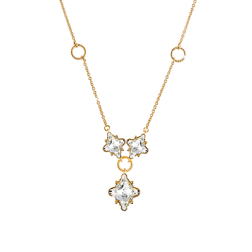 COLLANA LONDON IN ARGENTO PIETRE NATURALI - Rebecca