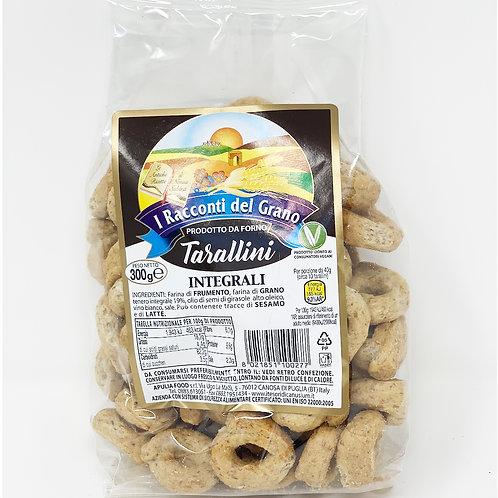 TARALLINI INTEGRALI GR 300 - I racconti del grano