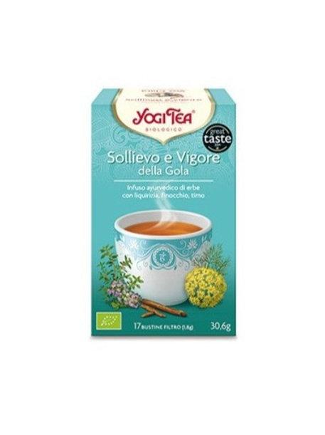 SOLLIEVO E VIGORE GR 30 - Yogi Tea