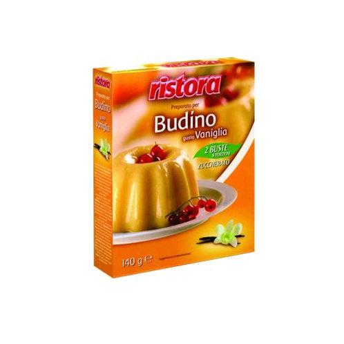 BUDINO GUSTO VANIGLIA 8 PORZIONI Gr 140 - Ristora