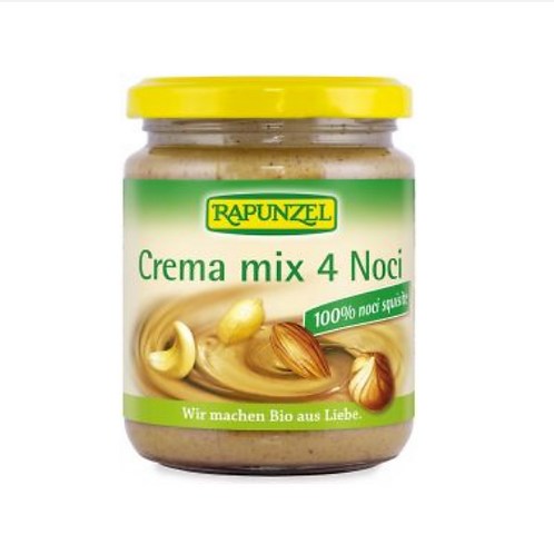CREMA MIX 4 NOCI GR 250 - Rapunzel