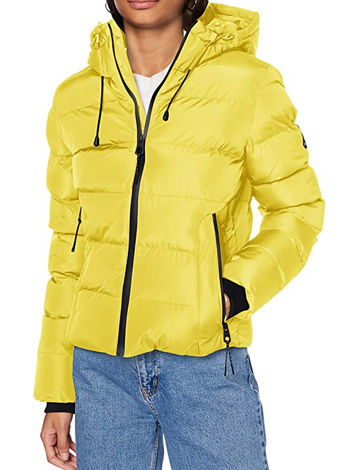 SPIRIT SPORTS PUFFER GIALLO - Superdry
