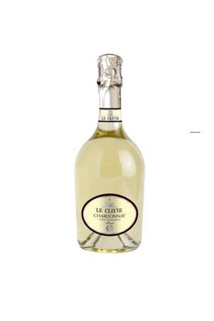 CHARDONNAY SPUMANTE BRUT Ml 750 - Le Clivie
