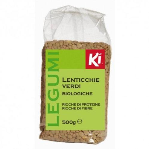 LENTICCHIE VERDI BIOLOGICHE 500 gr - Ki