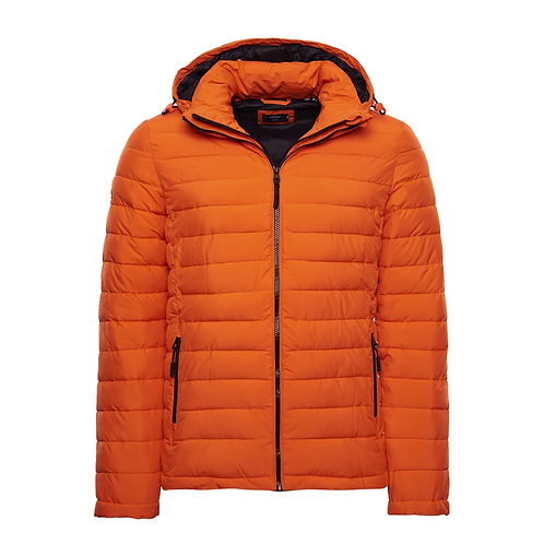 HODDED FUJI JACKET ARANCIONE - Superdry