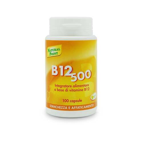 INTEGRATORE B12 500 CAPS 100  - Natural Point