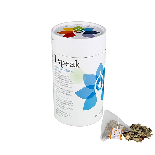 I SPEAK VISUDDHA CHAKRA TEA GR 30 - Solaris Tea