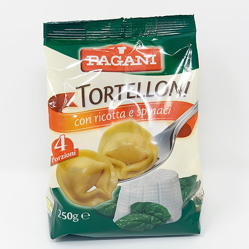 TORTELLONI CON RICOTTA E SPINACI GR 250 - Pagani