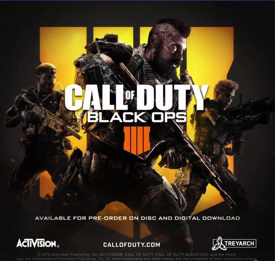 COD 2018: Black Ops 4