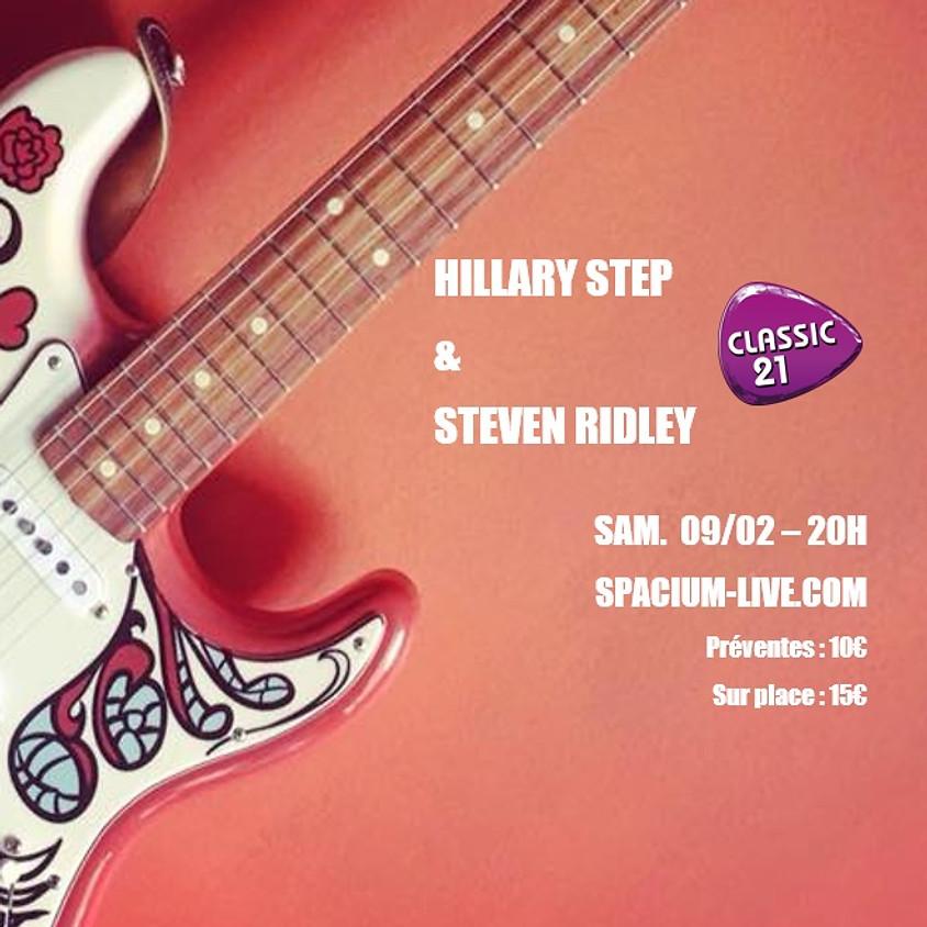 Hillary Step & Steven Ridley