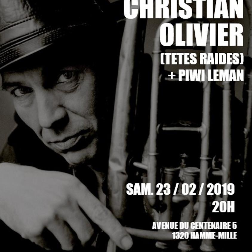Christian Olivier (Têtes Raides) au Spacium