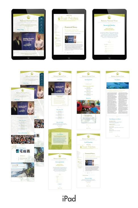website outline - ipad