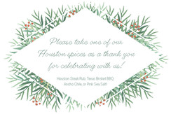 thank you gift sign