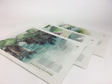 membership posters - series of three