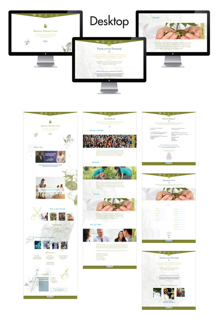 website outline - desktop