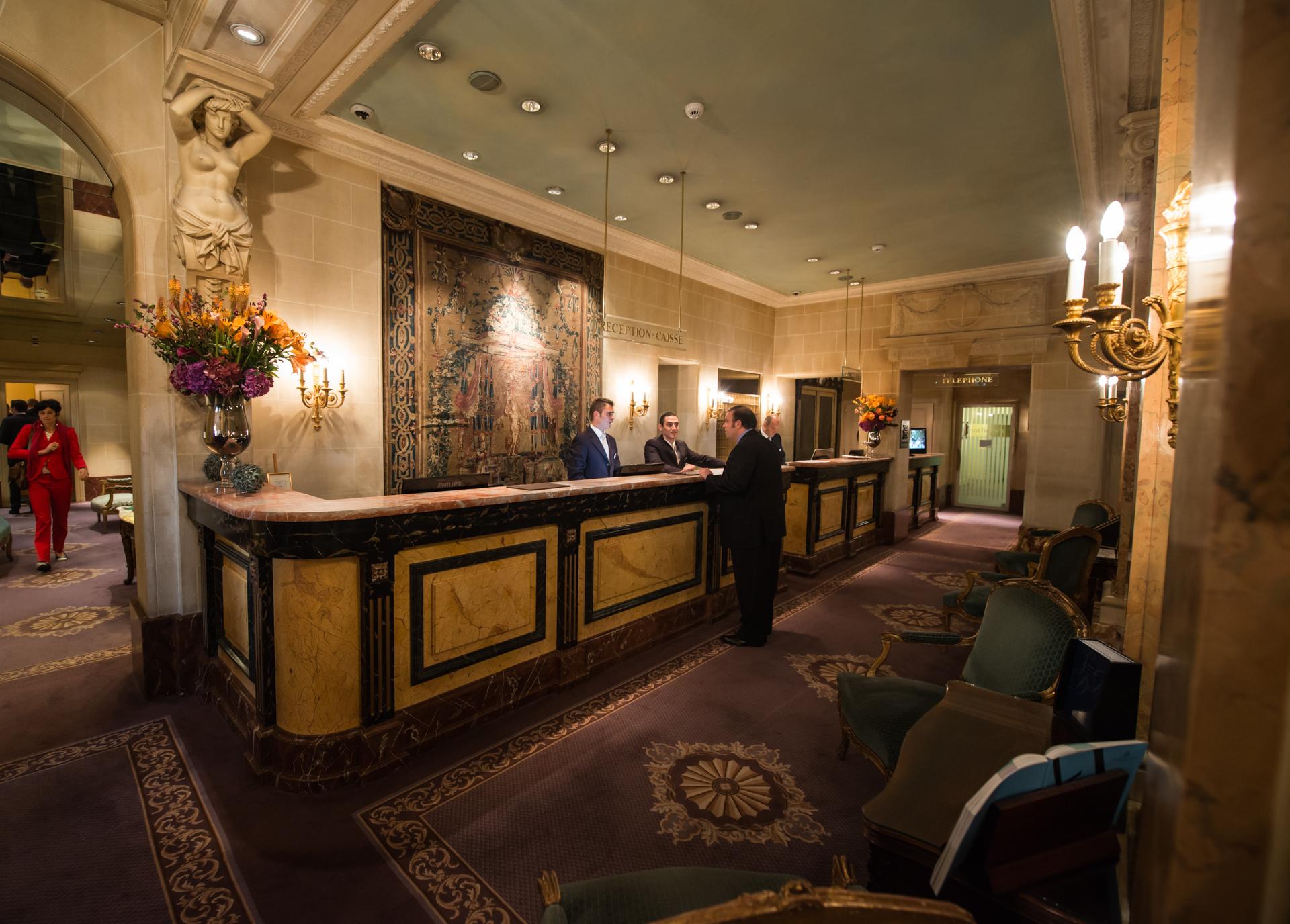Beau-Rivage Hotel, Geneva