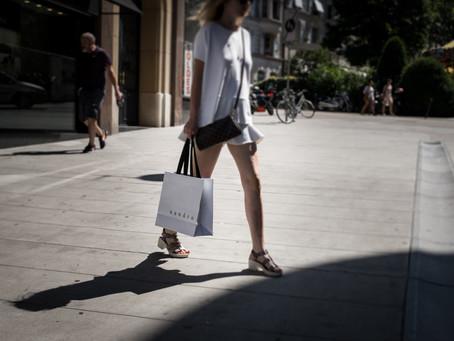Summer streets, Geneva.