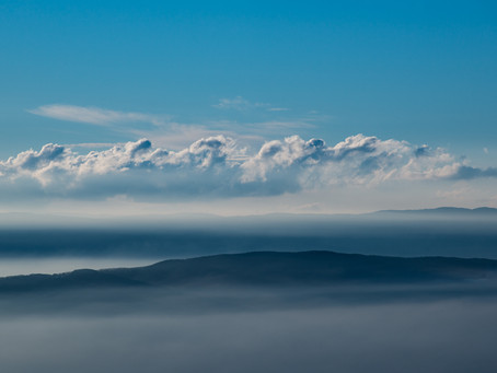 November above the clouds