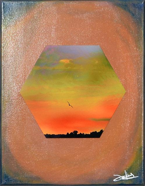 Descension on Canvas