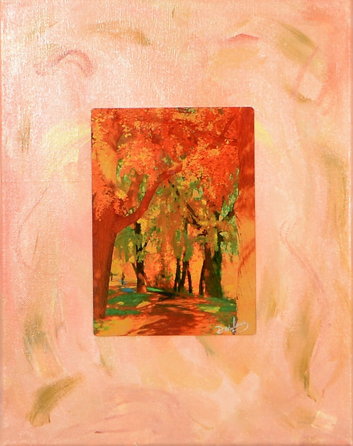 Rose Park on Canvas