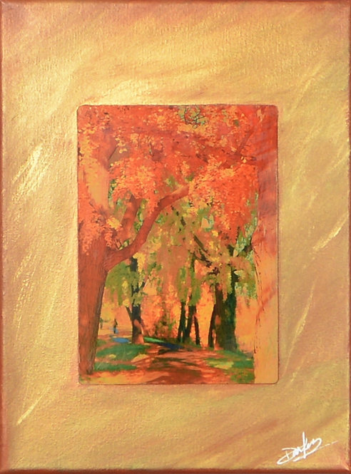 The Way / Rose Park on Canvas