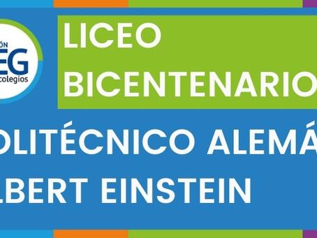 Politécnico Alemán: ¡Somos Liceo Bicentenario!