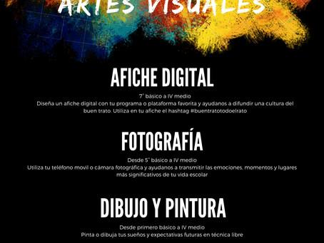Concurso de Artes Visuales, Dibujo y Pintura.